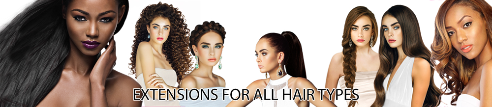 Hair Extensions for all types of Hair